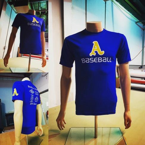 Custom Printed Dry Fit Custom Sports Shirt